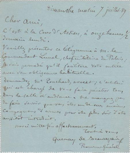 Jules Quesnay de Beaurepaire